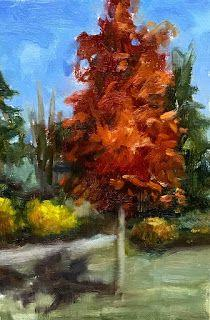 Angie's Fall Colors by artist Pat Meyer