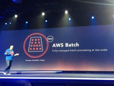 AWS launches batch processing service in preview