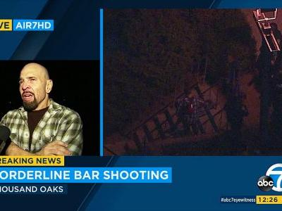 Police are responding to reports of a shooting at a bar in the Los Angeles-area suburb of Thousand Oaks