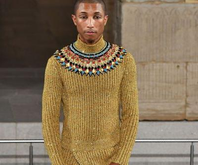 Pharrell Hits the Runway for Chanel's Egyptian-Inspired Métiers d'Art