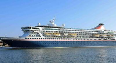 Fred. Olsen's flagship 'Balmoral' commences record cruise season from Newcastle in 2019/20