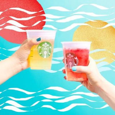 What Are Starbucks Cold Foam Tea Lemonades? You're Going To Love The New Drinks