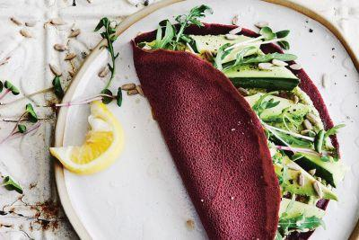 These Beet + Buckwheat Crepes Will Balance Your Chakras