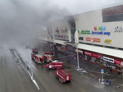 48 dead in Siberian shopping center fire, Russian state media reports