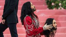 Jared Leto Carried His Own Severed Head To The Met Gala