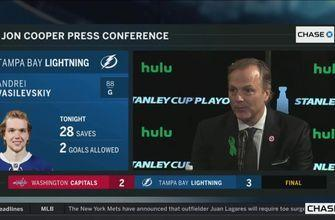 Jon Cooper on how Lightning have won 3 straight against Capitals