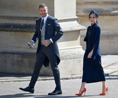 David Beckham Wears Kim Jones-Designed Dior Homme Suit to Royal Wedding