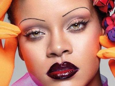 Rihanna and Her Skinny Eyebrows Star on British 'Vogue''s September Issue