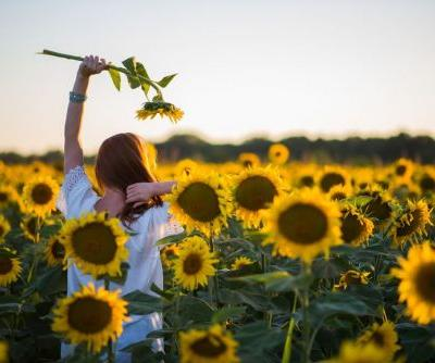 Flower Field Instagram Captions For Pics With Your Best Buds