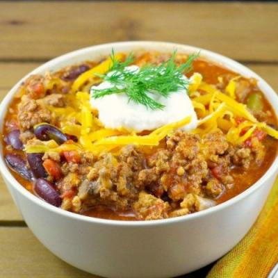 Easy Pork & Beef Stovetop Chili