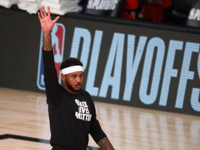 Carmelo Anthony returning to Portland on a one-year deal