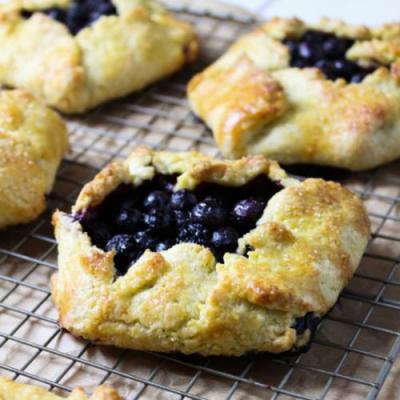 Individual Blueberry Galettes