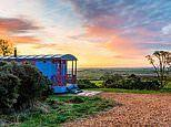 UK shepherd's hut holidays are all the rage and they come with chic interiors and hot tubs