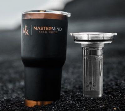 Mastermind portable cold coffee brewer