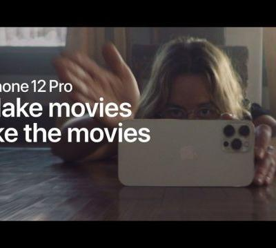 Apple drops video showing how people use the iPhone 12 Pro to make movies