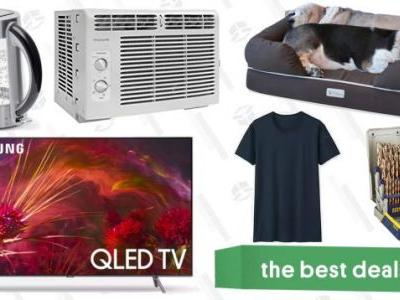 Saturday's Best Deals: QLED 4K TVs, Uniqlo Basics Sale, Air Conditioners, and More