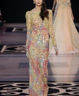 GEORGES HOBEIKA Haute Couture Spring Summer 2019 collection