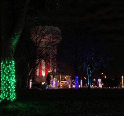 Minnesota State Fairgrounds GLOW with Prince tribute as part of holiday lights festival