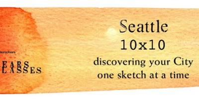 Seattle USk 10x10 Urban Sketching Course and First Free Lecture