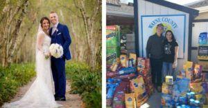 Newlyweds Skip Traditional Wedding Gifts & Ask For Shelter Donations Instead