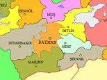 Campaign wants Turkish province Batman to change borders so it looks like the Caped Crusader's logo