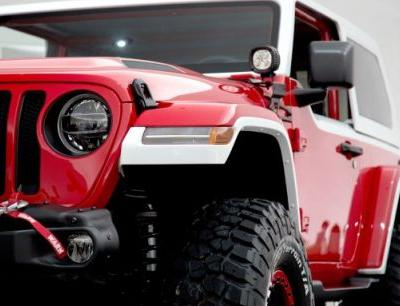 Jeep's Jeepster Concept Is a New Wrangler JL with 1960s Retro Style