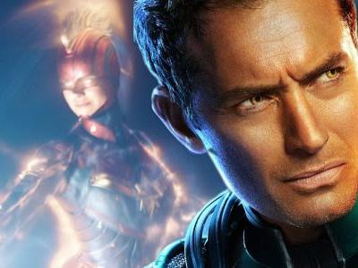 Captain Marvel Tie-In Book Finally Confirms Jude Law's Character