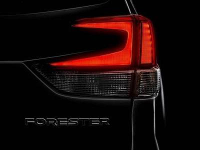 Your First Look At The 2019 Subaru Forester Is This Shadowy Teaser