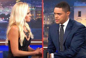 The Final Scorecard For the Tomi Lahren v. Trevor Noah Showdown on Last Night's Daily Show