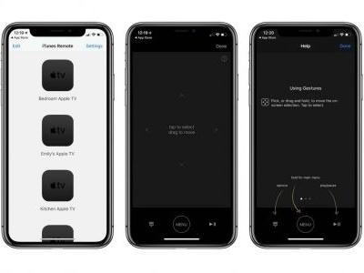 ITunes Remote app on iOS updated with bug fixes for Apple TV integration, more