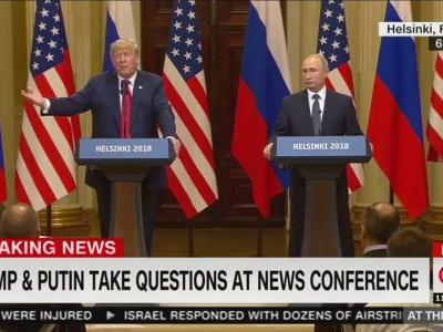 Trump's press conference with Putin was great for Putin