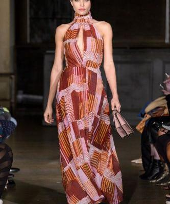 Negis LeBrum Spring 2019: New York Fashion Week