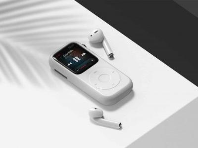 Transform your Apple Watch Series 4 into an OG iPod with this case