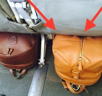 This couple invented a clever piece of luggage so you'll never have to check your bags again - here's how it works