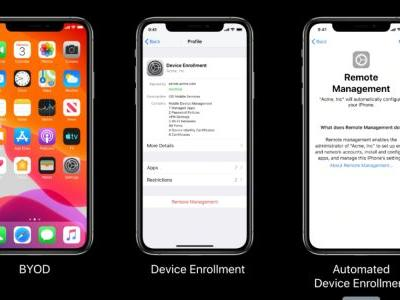 Making the Grade: What's new with device management in iOS 13, iPadOS 13, tvOS 13, and macOS Catalina?