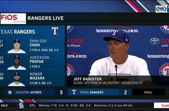 Jeff Banister on the missed opportunities against Houston