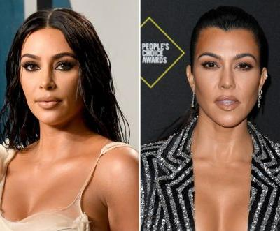 Kim Kardashian: Things get 'a little violent' with sister Kourtney on 'KUWTK'