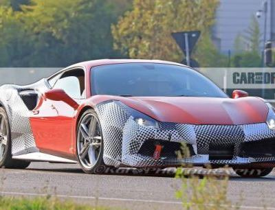 2019 Ferrari 488GTO Spied Honing its Superiority
