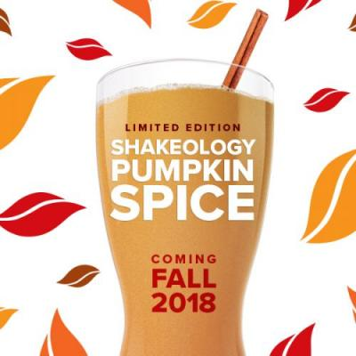Coming Soon: Pumpkin Spice Shakeology