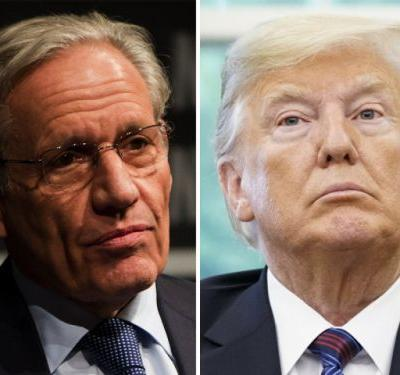 Trump vows to write 'the real book' on White House as he slams Bob Woodward ahead of 'Fear' release