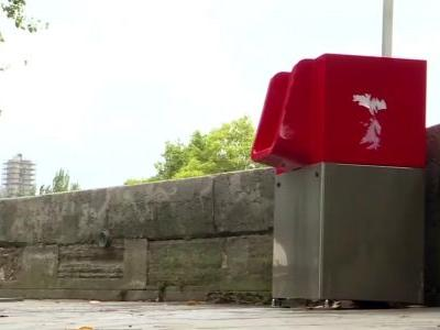 Eco-friendly open-air urinals cause uproar in Paris