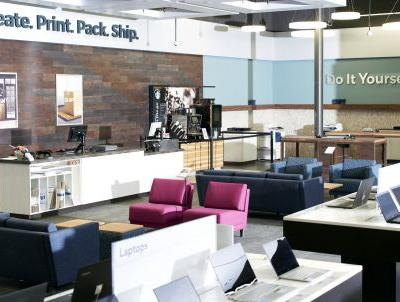 Office Depot just opened a coworking space inside one of its stores. Take a look inside