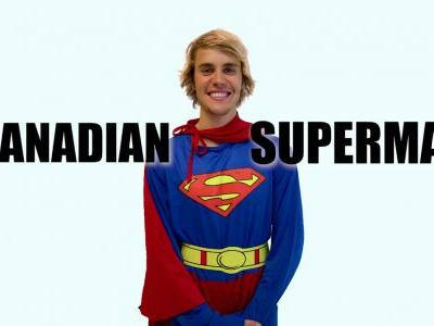"Here's Justin Bieber In A Supremely Unfunny ""Racist Superman"" Sk"