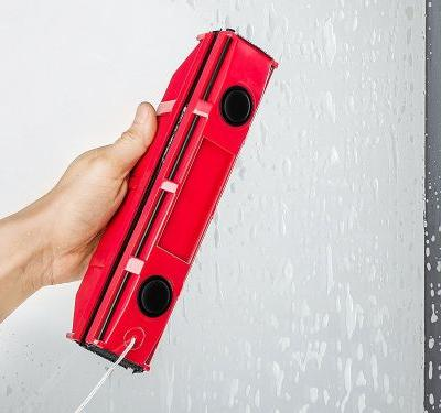 This satisfying tool can clean the outside of your windows from the inside of your home