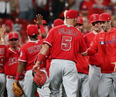 Watch: Los Angeles Angels hold off St. Louis Cardinals rally