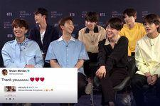 Watch BTS Address Their Love of Shawn Mendes and Talk Potential Collaboration With Singer