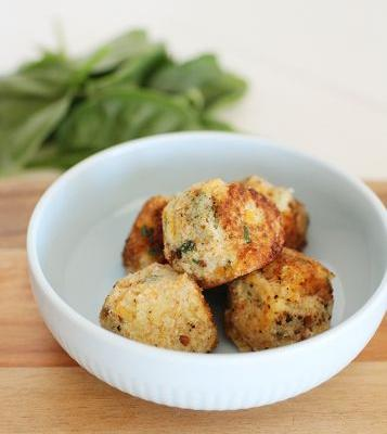Healthy Cheese Balls for Kids
