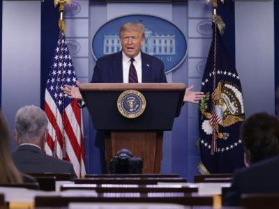 Pres. Trump to hold Monday briefing