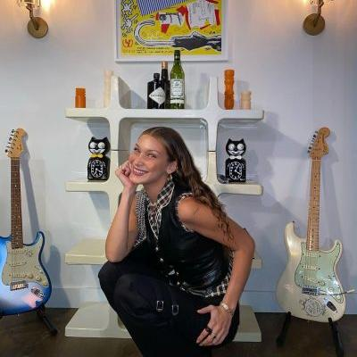 Vibes! Bella Hadid Gives a Peek Into Her Stylish NYC Home - See the Model's Cool Decor