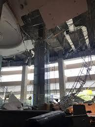 One injured after lobby ceiling of five-star KL hotel collapses